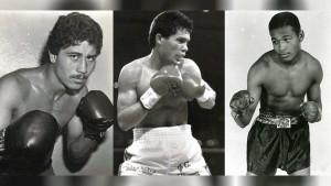 Wilfredo Gomez, Julio Cesar Chavez, and Sugar Ray Leonard