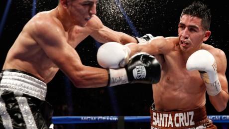 Leo Santa Cruz:   Not ready to concede title to Frampton