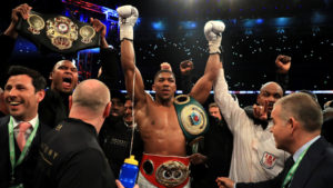 Joshua Is the New King as Valiant Klitschko Goes Out on His Shield