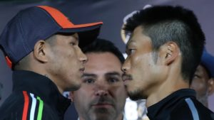 "MIGUEL ""EL ALACRAN"" BERCHELT AND TAKASHI MIURA HOST FINAL MEDIA PRESS CONFERENCE"