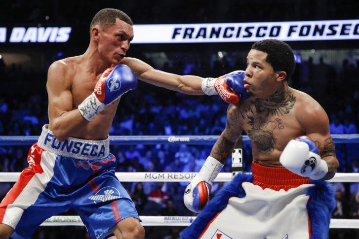 Gervonta Davis vs Francisco Fonseca