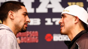 Tensions Flare At Final Press Conference For Danny Garcia vs. Brandon Rios Welterweight World Title Eliminator
