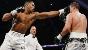 ANTHONY JOSHUA OUTPOINTS JOSEPH PARKER IN HEAVYWEIGHT WORLD CHAMPIONSHIP UNIFICATION SATURDAY ON SHOWTIME®