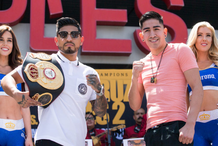 Santa Cruz vs Mares Press Conference Staples Center_11