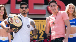 Leo Santa Cruz vs. Abner Mares 2 Los Angeles Press Conference