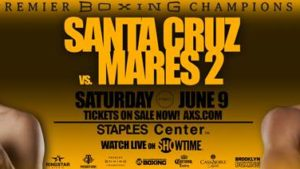 Featherweight World Champions Leo Santa Cruz & Abner Mares Square-Off in World Title Rematch
