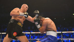 TYSON FURY SUCCESSFUL IN HIS RETURN TO BOXING WITH TKO
