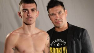 FORMER WORLD CHAMPION SERGIO MARTINEZ SPEAKS GLOWINGLY OF HIS TOP PROSPECT