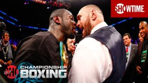 WBC HEAVYWEIGHT WORLD CHAMPIONSHIP: DEONTAY WILDER VS. TYSON FURY