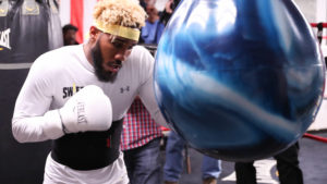 JARRETT HURD & LUIS ORTIZ MEDIA WORKOUTS QUOTES & PHOTOS