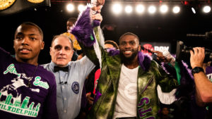 TOP WELTERWEIGHT PROSPECT JARON ENNIS ELECTRIFIES HOMETOWN CROWD