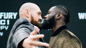SHOWTIME PPV® OFFERS BLOCKBUSTER HEAVYWEIGHT FIGHT DEONTAY WILDER VS. TYSON FURY